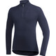 Woolpower 400 Zip Turtleneck Unisex dark navy